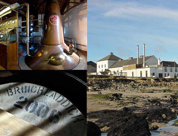 Bruichladdich distillery images