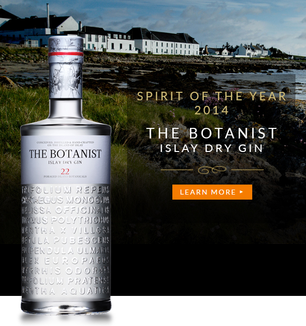 Spirit of the Year 2014 - The Botanist – Islay Dry Gin