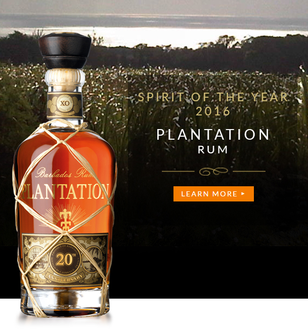 Spirit of the Year 2016 - Plantation Extra Old - Barbados Rum