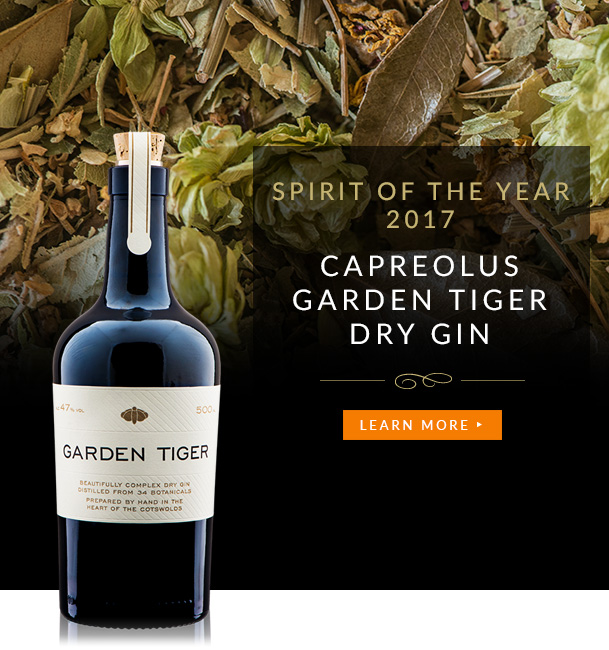 Spirit of the Year 2017 - Capreolus Garden Tiger Dry Gin