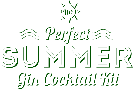 The Perfect Summer Gin Cocktail Kit - logo