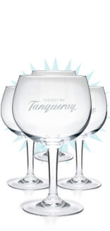 Tanqueray Goblet Glass