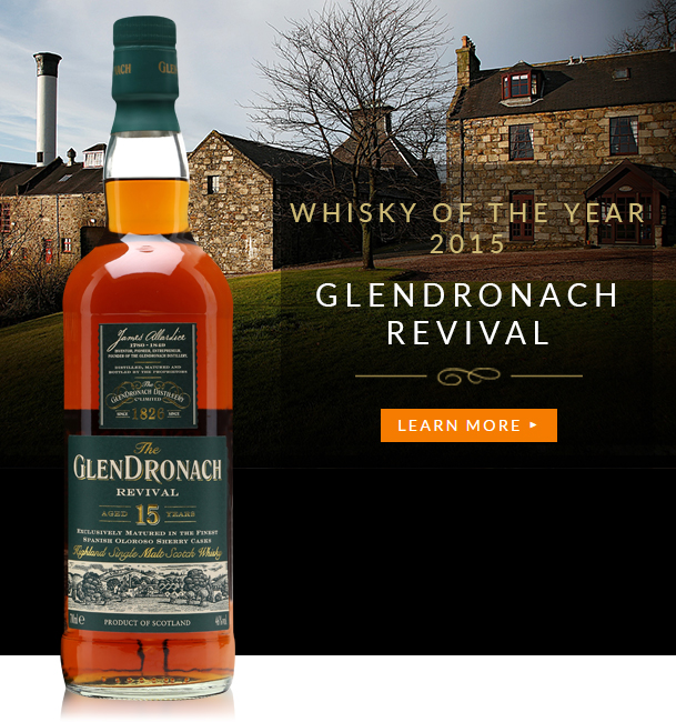 Whisky of the Year 2015 - Glendronach Revival