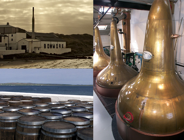 Islay's Bowmore distillery