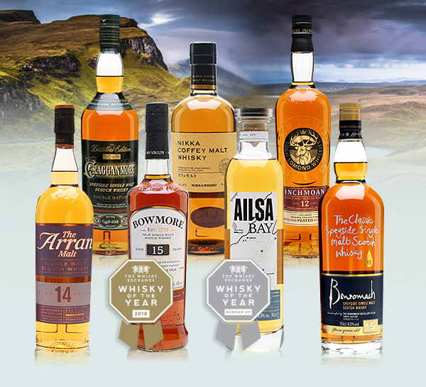 Whisky of the year shortlist