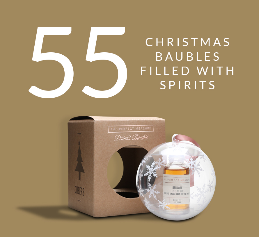 55 Dalmore 12 Year Old Christmas Baubles