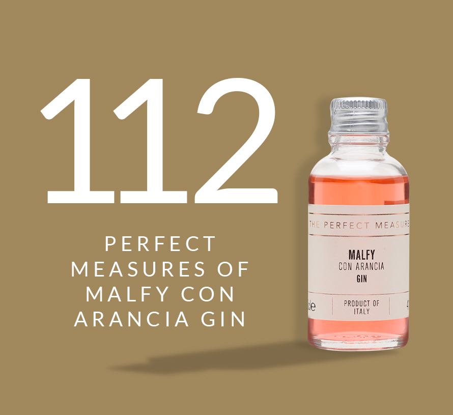 112 Perfect Measures of Malfy Con Arancia Gin