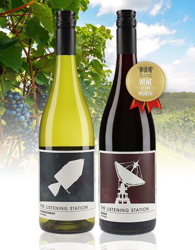 The Listening Station Chardonnay and Shiraz Duo – The Whisky Exchange Wine of the Month