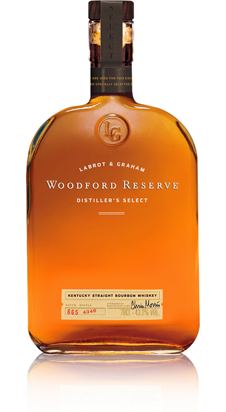 Woodford Reserve Distiller's Select and Glass