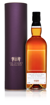 Personalised 25 Year Old Single Grain Scotch Whisky