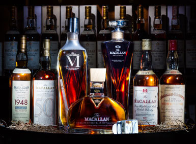 The most extensive collection of Macallan