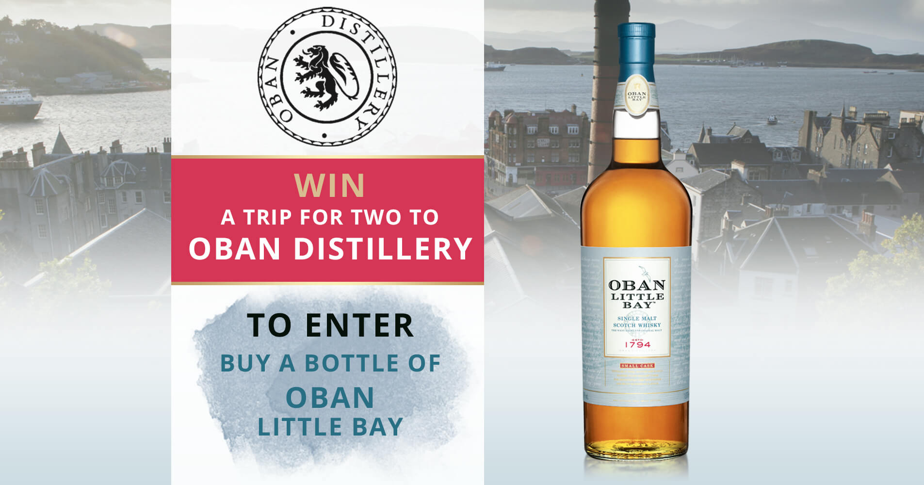 Win a trip for two to Oban Distillery! : The Whisky Exchange