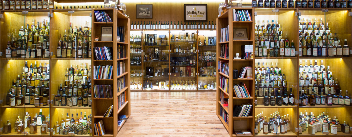 The Whisky Exchange Showroom