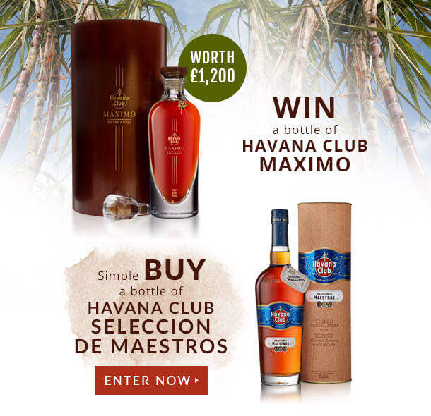 Havana Club Prize Draw with The Whisky Exchange