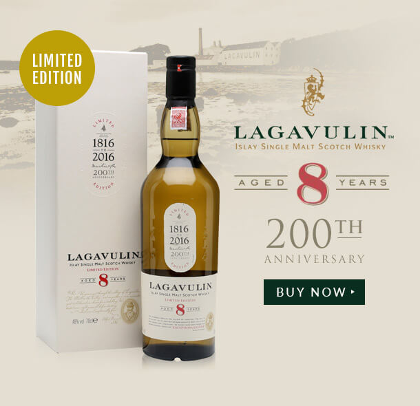 Lagaulin 8 Year Old 200th Anniversary