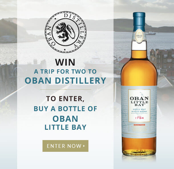 Win a trip to Oban Distillery with The Whisky Exchange