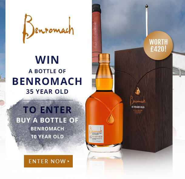 Win a bottle of Benromach 35 Year Old with The Whisky Exchange