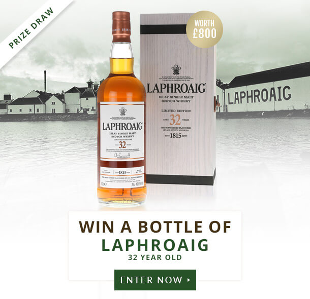 Laphroaig 32 Year Old Prize Draw