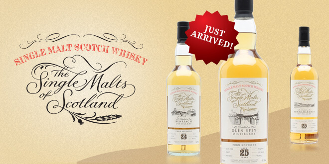 New from The Single Malts of Scotland