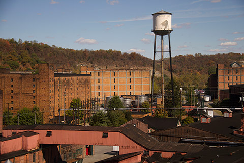 Buffalo Trace Distillery, located in Frankfort, Kentucky