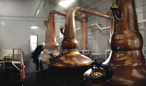 Glengoyne is known for its powerful style of whisky