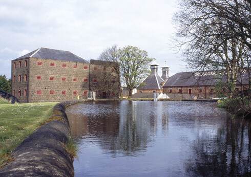 Bushmills Distillery is located in County Antrim, Northern Ireland