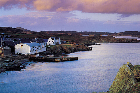 Ardbeg, along with Lagavulin and Laphroaig, forms the Kidalton trio of distilleries on Islay's south coast