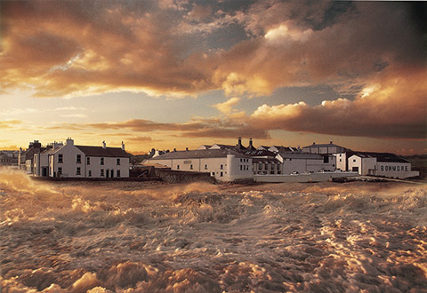 Islay's rugged climate is reflected in its whiskies