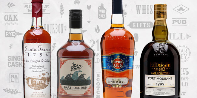 Top 10 Father's Day Rums
