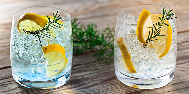 Buy a bottle of gin – get two free bottles of tonic!