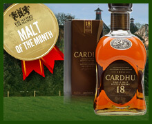 Malt of the Month - Cardhu 18