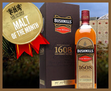 Malt of the Month March 2015 – Bushmills 1608