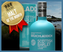 Malt of the Month – Bruichladdich Scottish Barley