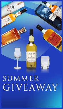 Summer giveaway – Free glasses and whisky