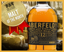 Malt of the Month – Aberfeldy 12