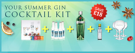 Summer gin cocktail kit