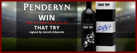 Win signed bottles of Penderyn That Try