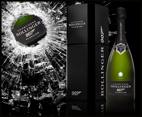 Champagne Bollinger SPECTRE Limited Edition