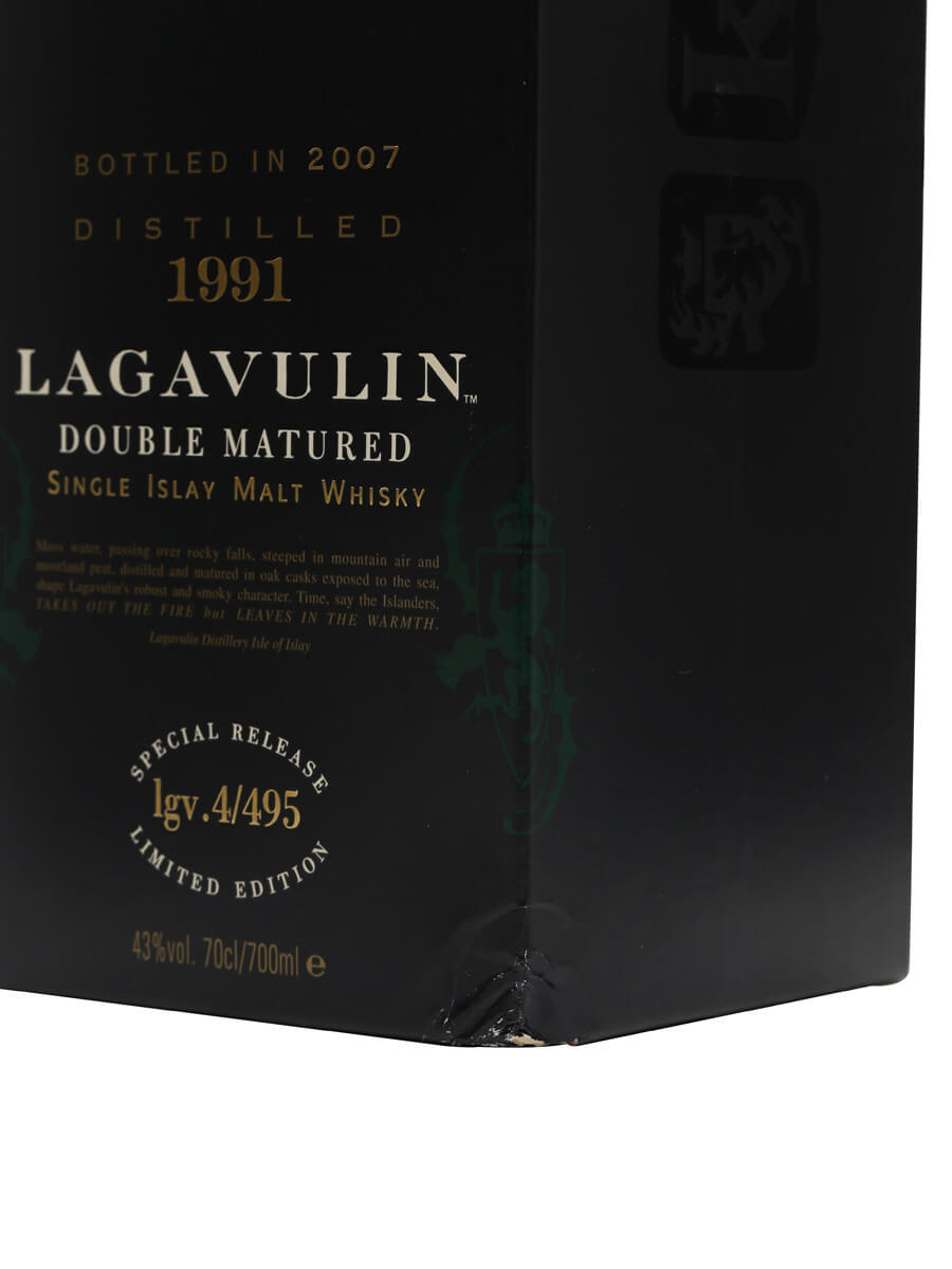 Lagavulin 1991 Distillers Edition / Bot.2007