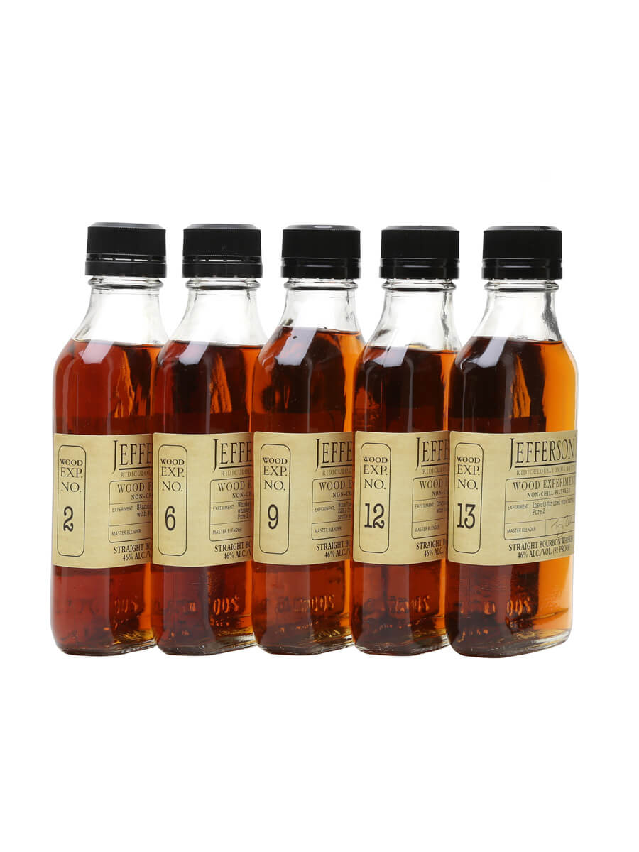 Jefferson's Wood Experiment Box Set #2 / 5 x 20cl