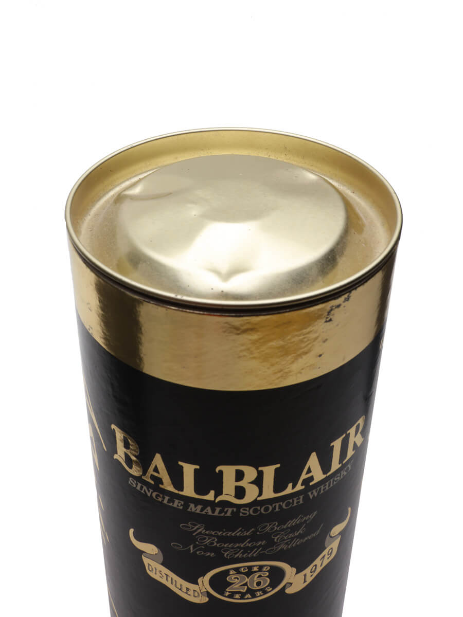 Balblair 1979 / 26 Year Old / Bourbon Cask
