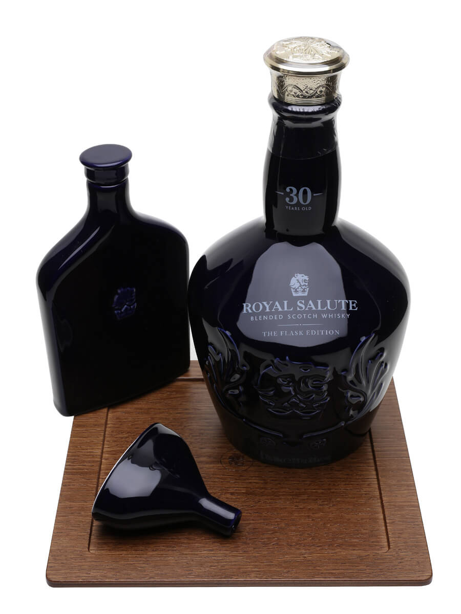 Royal Salute 30 Year Old With Flask