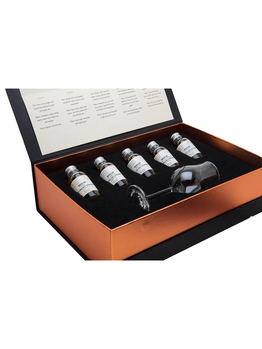 Tour of Scotland Whisky Gift Set / First Edition / 5x3cl