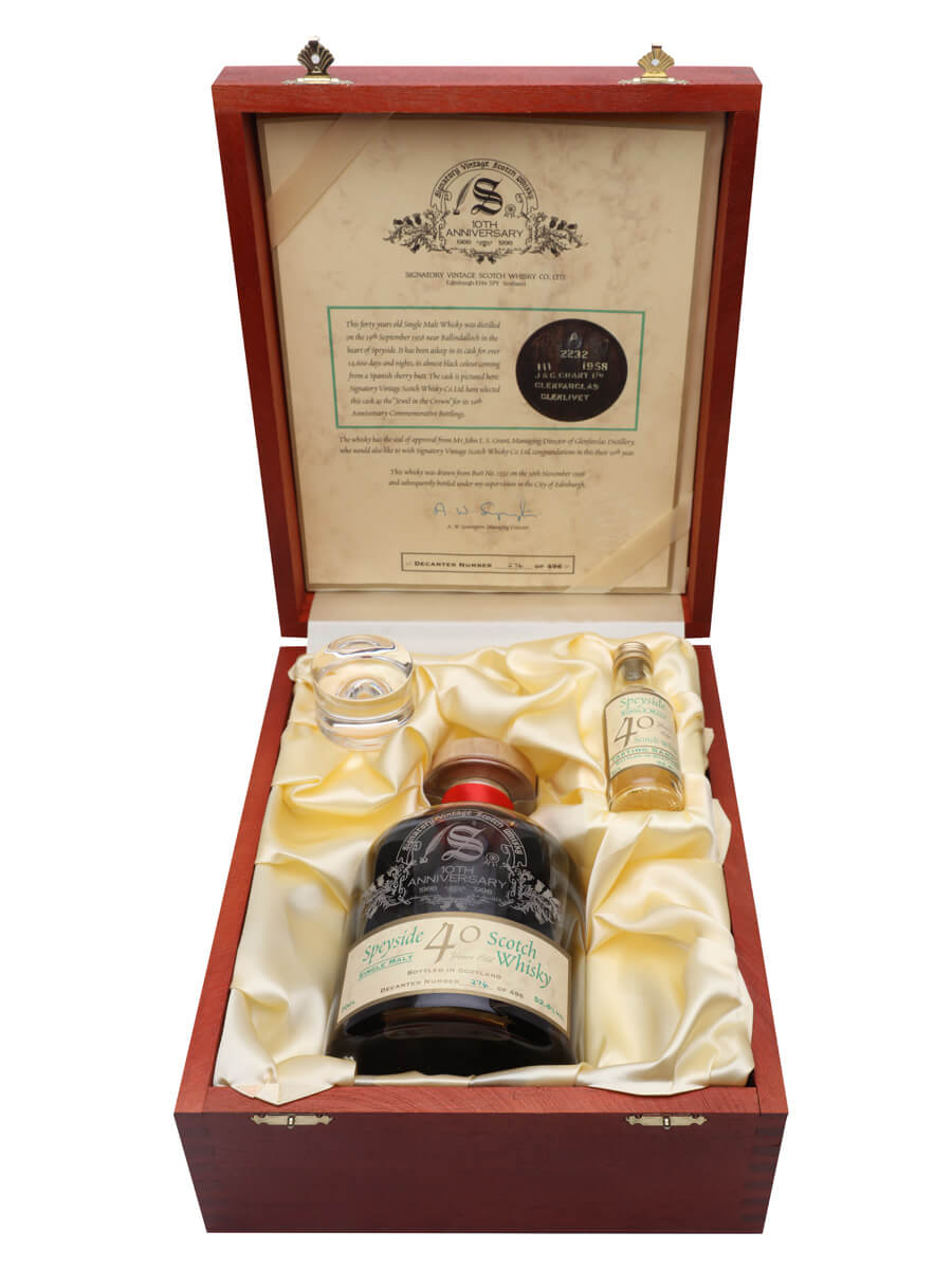 Speyside 1958 / 40 Years Old / Sherry Cask / Signatory